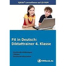 Fit in Deutsch - Diktattrainer 4. Klasse Einzellizenz