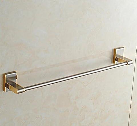 Badezimmer Zubehör, voll Kupfer Handtuchhalter Handtuch einpolige Handtuchhalter, Material: Kupfer (Boden Montiert Handtuchwärmer)