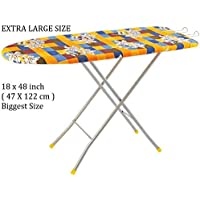 GUDS Extra Large Big Size Folding Ironing Board/Iron Table with Press Stand for Home