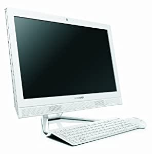 Lenovo C460 21.5-inch Multitouch All-In-One Desktop - White (Intel Pentium G3220T 2.6GHz, 4GB RAM, 1TB HDD, DVDRW, Wi-Fi, BT, Integrated Graphics, Windows 8.1)