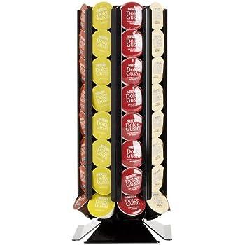 d ring porte gobelet caf pour 72 capsules dolce gusto. Black Bedroom Furniture Sets. Home Design Ideas