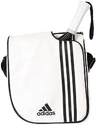 adidas 2014 Spain - Bolsa bandolera unisex, color blanco / negro, talla única