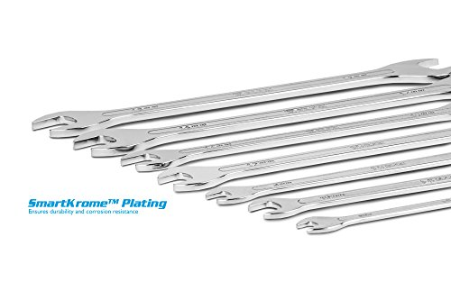 Capri Tools super-thin Open End wrench set, metrico, da 6a 19mm, pezzi