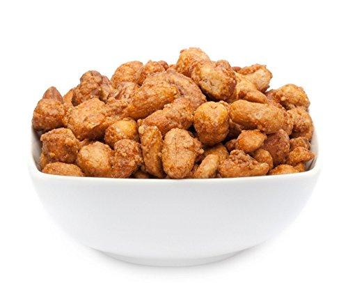 CrackersCompany 'Butterscotch Nutmix Deluxe' Karamelisierte Butter Nuss Mischung – Eine Auswahl edler Nuss-Sorten in Honig und Butter karamellisiert
