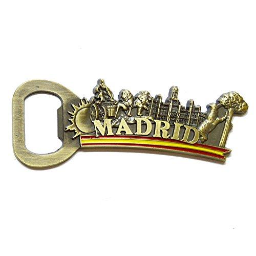 ALBERO Fridge Magnet ABRECHAPAS Cibeles Madrid Spain 8,5 CM