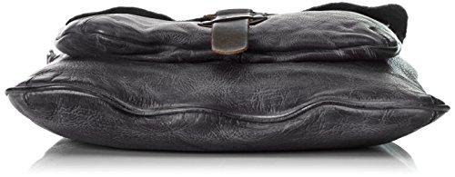 Taschendieb Td0802, sac bandoulière Gris anthracite