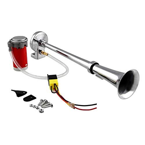Tromba Aria Clacson 110-150 DB Singolo Accessorio Automobile Camion - 24v