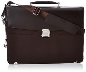 "Samsonite Mallette S-thetic Briefcase 2 G+flap 16.4"" 15 Liters Marron (Dark Brown) 51038"