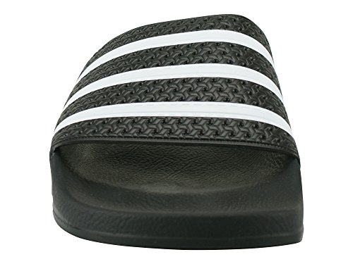 adidas Adilette Unisex-Erwachsene Slipper Nero (Schwarz)
