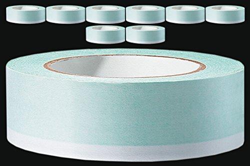 8 x PROFI Masken Klebeband UV 35 mm beidseitig klebend 25 m Double Tape Acrylat Maskenband Abdeckband Abklebeband Duo