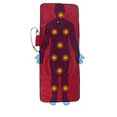 Unbekannt Massage-Matratze-KöRper-Multifunktionshals-Taillen-Bein-Elektrische Massage-Auflage, Faltbares Infrarotheizungs-Massager-Innenministerium 58 cm * 166 cm