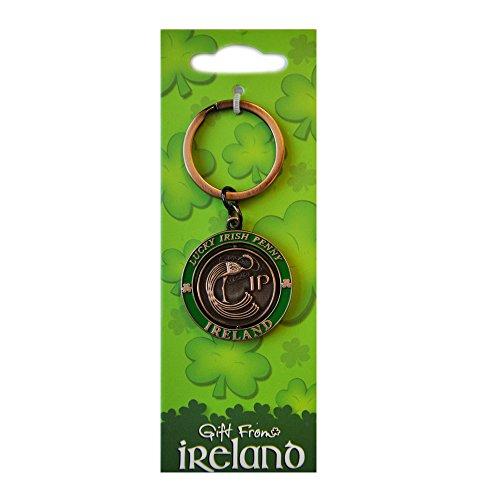 Lucky Irish Penny-Kreisel-Schlüsselanhänger (Lucky Irish Penny)