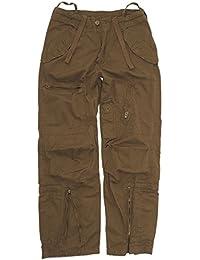Mil-Tec Fliegerhose Cotton Vintage Jägerhose Outdoor Feldhose Kampfhose Arbeitshose Einsatzhose Coyote XS-3XL