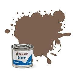 Humbrol 14ml No. 1 Tinlet Enamel Paint 29 (Dark Earth Matt)