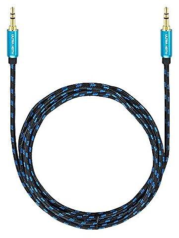 Ultra HDTV Premium AUX-Kabel 1 Meter   Audio-Kabel 3,5mm auf