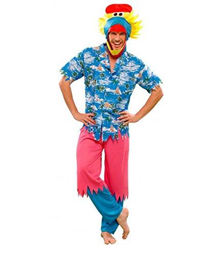 Imagen de disfraz de pajaro hawaiano  talla única m/l