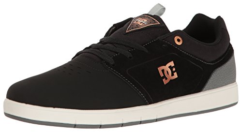 DC Mens Cole Pro Skate Shoe Grey/Black/Grey