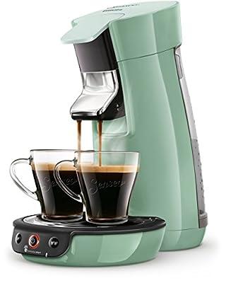 Senseo Viva Café HD6563/10 coffee maker Freestanding Pad coffee machine Green 0.9 L 6 cups Fully-auto Viva Café HD6563/10, Freestanding, Pad coffee machine, 0.9 L, Coffee pod, 1450 W, Green