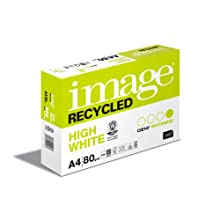 """Antalis 468429 - Carta per fotocopiatrice""""Image Recycled"""", formato DIN A4, 80 g/m², 500 fogli, colore: Bianco"""
