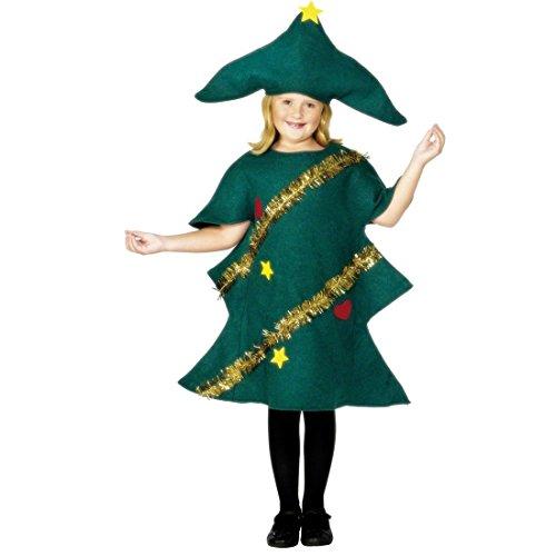 Costume abete Natale bambini115- 5-7 anni travestimento albero