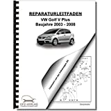 VW Golf 5 Plus, Typ 5M (03-08) 6 Gang Automatikgetriebe 09G - Reparaturanleitung