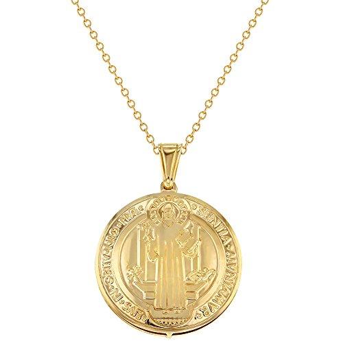 placcato-oro-18-k-san-benedetto-collana-ciondolo-reversibile-medaglia-religiosa-483-cm