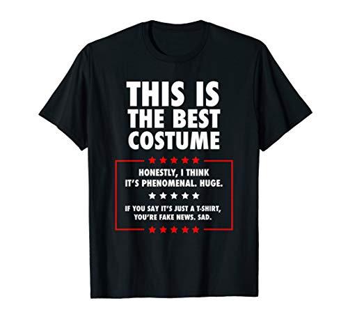 Trump Halloween-Kostüm Trick oder Leckerbissen Geschenke T-Shirt (Politische Halloween Kostüm)