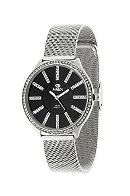 Reloj Marea Mujer B21148/2 Esterilla Circonitas Plateado