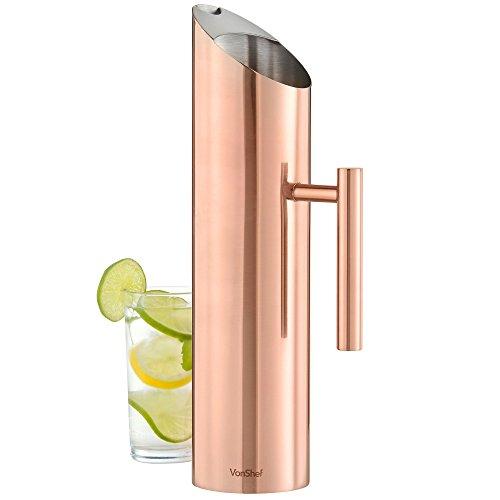 vonshef-carafe-a-eau-pichet-en-acier-inoxydable-cuivre-17-litre