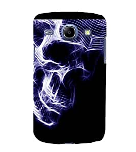 printtech Skull Artwork Back Case Cover for SAMSUNG Galaxy J7 - 6 (New 2016 Edition)