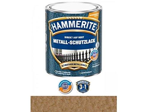 Preisvergleich Produktbild 750 ml Hammerite Direkt auf Rost Metall-Schutzlack Kupfer, Hammerschlag