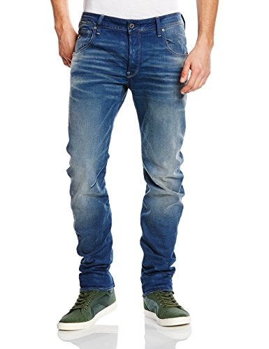 G-Star - Arc 3D Slim, Jeans da uomo, blu (Blau  (medium aged 071)), 46 IT (32W/38L)