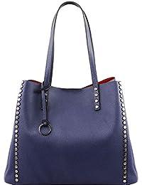 Tuscany Leather TL Bag - Sac shopping en cuir souple - TL141624