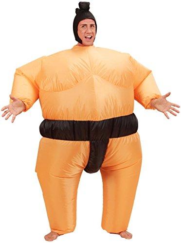 Seiler24 Super Lustiges Sumo Ringer Kostüm aufblasbar für ()