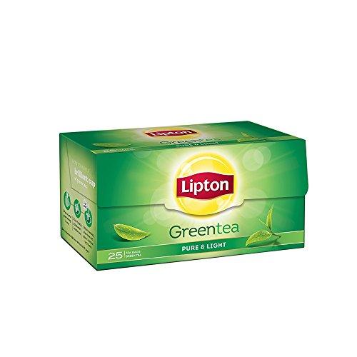 Lipton Green Tea Pure and Light Tea Bags, 25 bags