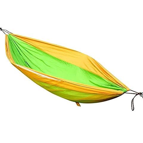 Letion Portable d'extérieur en nylon Hamac, léger, lit à suspendre avec 149,7kilogram Capacité maximale avec