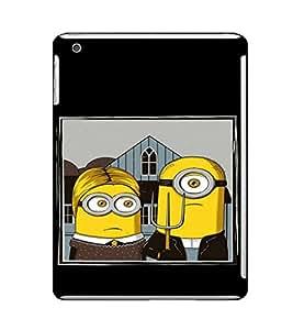 EPICCASE Mr Mrs. Minion Mobile Back Case Cover For Apple Ipad Mini 2 (Designer Case)