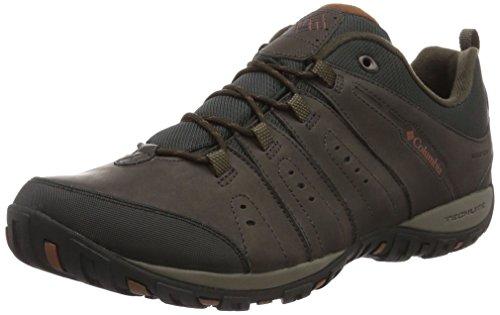 Columbia Herren WOODBURN™ II Waterproof Trekking-& Wanderhalbschuhe Braun (Cordovan/Cinnamon 231)
