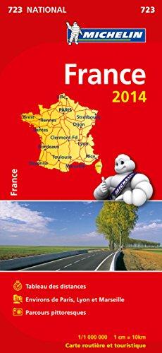 Mapa National. Francia Atlas 2014 (Mapas National Michelin)