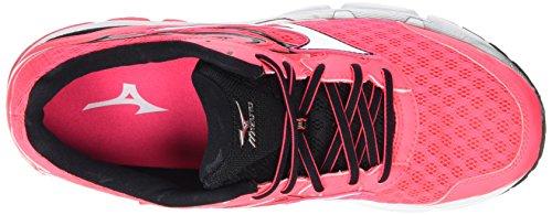 Mizuno Wave Inspire 12 (W), Chaussures de Running Compétition Femme Pink (Diva Pink/White/Black)