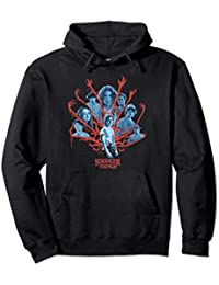 Stranger Things Group Shot Demogorgon Arms Sudadera con Capucha