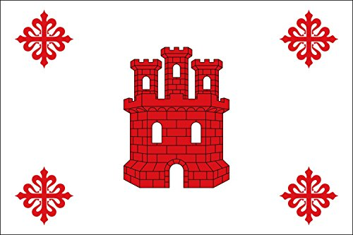 magFlags Bandera Large Aldea del Rey, Ciudad Real, España | bandera paisaje | 1.35m² | 90x150cm