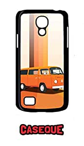 Caseque VW Van Back Shell Case Cover For Samsung Galaxy S4 Mini