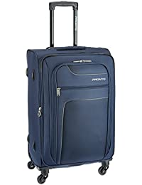 Pronto New Yorker Polyester 68 cms Blue Softsided Suitcase (6499 - BL)