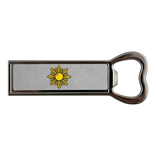 stainless-steel-bottle-opener-and-fridge-magnet-with-golden-starburst
