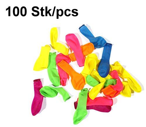 100 bunte Wasserbomben im Sparpack