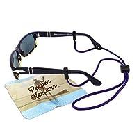 Eyeglass Retainer & Sunglass Holder By Peeper Keepers Supercord Adjustable, Purple, 1pk | w/Microfiber Cloth, Screwdriver