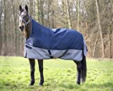 EQUI-THÈME Regendecke TYREX 600D, High Neck ohne FLEECE, Größe (cm):125