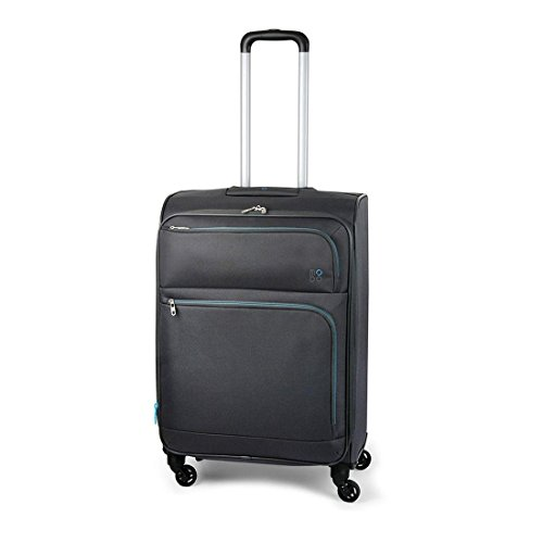 Modo by roncato valise trolley souple 4 roues 67 cm astro anthracite