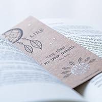 Marque pages kraft « lire c'est rêver les yeux ouverts »